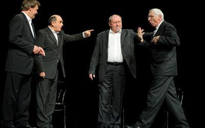 Kwartet – kultowa już historia czterech aktorów poszukujących sensu życia, teatru i sztuki