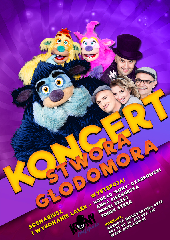 koncert stwora głodomora_plakat