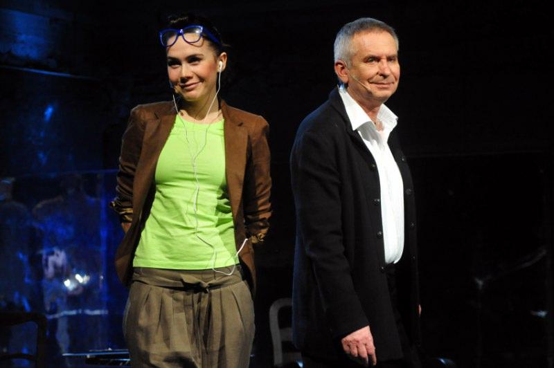Krzysztof Materna i Olga Bołądź razem na scenie!
